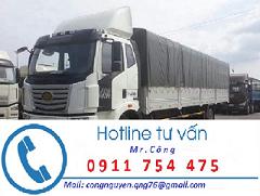 Vận chuyển hàng hóa tại Bình Dương bằng xe tải mui bạt