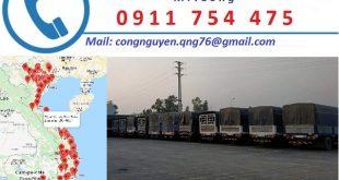 Cho thuê xe vận chuyển hàng đi Hà Nội