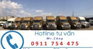 Cho thuê xe vận chuyển hàng Hà Nội đi Sài Gòn