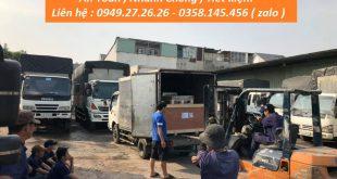Chuyển hàng từ Nha Trang về Hà Nội
