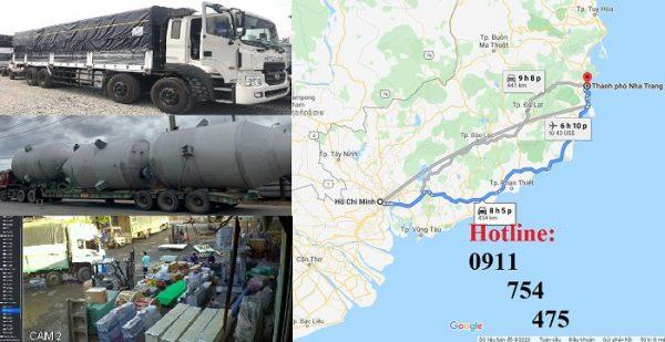 Nhận gửi hàng hóa đi Nha Trang từ Sài Gòn