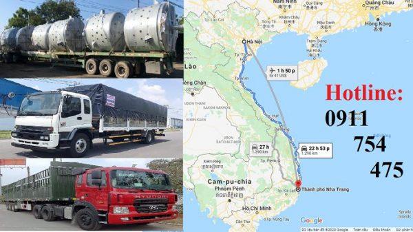 Vận chuyển hàng hóa Hà Nội vào Nha Trang