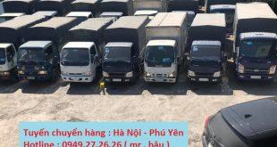 Chuyển hàng Hà Nội đi Tuy Hòa Phú Yên