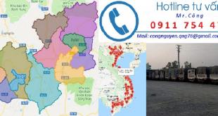 Chành xe ghép hàng đi Lâm Đồng
