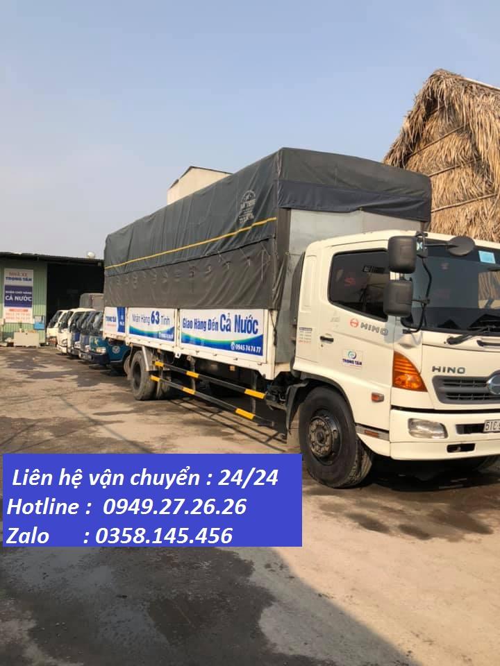 Chành xe vận chuyển Hà Nội Kiên Giang