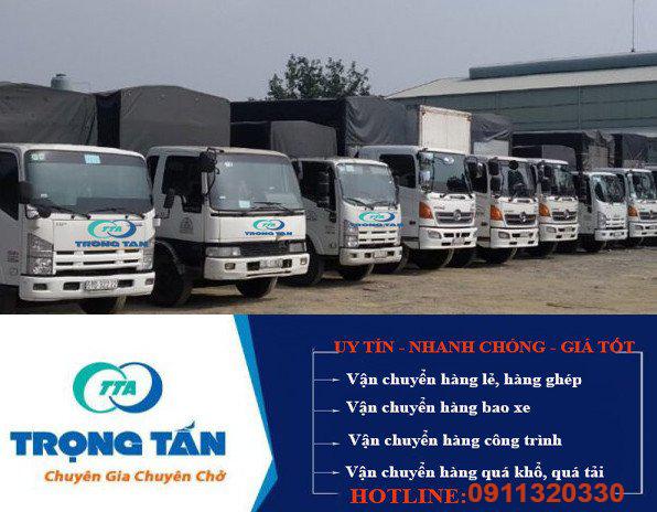 Đội xe vận chuyển hàng Sài Gòn đi Tiền Giang