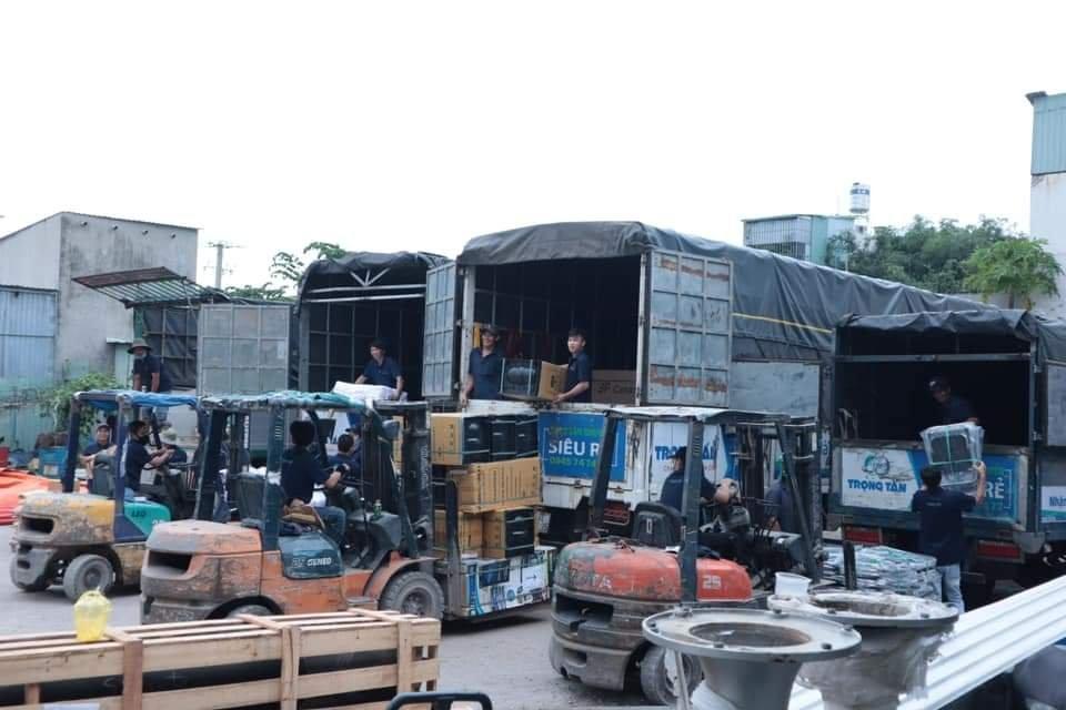 nhà xe vận chuyển hàng Trọng Tấn