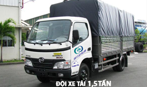 Doi xe 1,5 tan