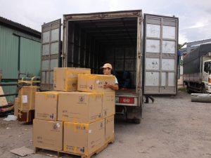 Dịch vụ đóng gói, bốc xếp tại kho