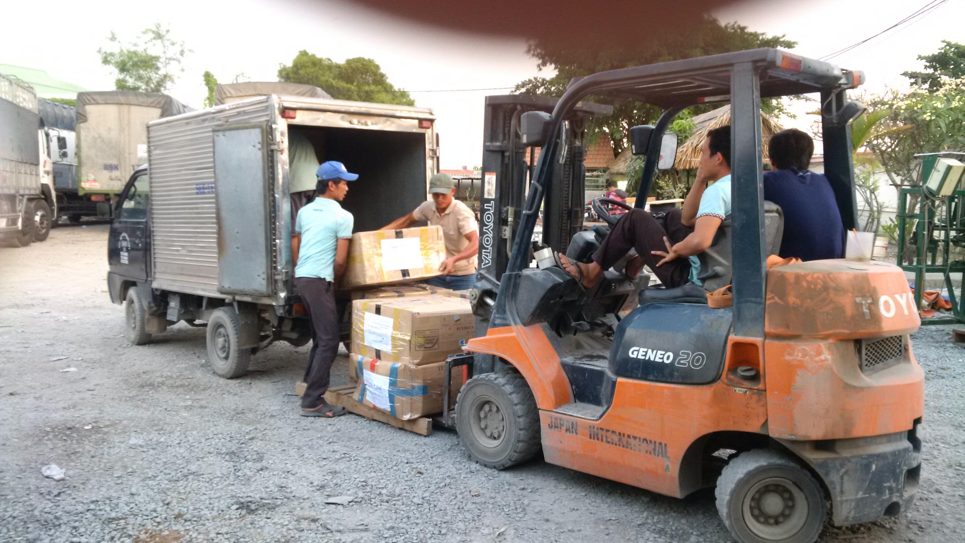 Công ty vận tải hàng hóa từ Đắc Lắc đi Hà Nội