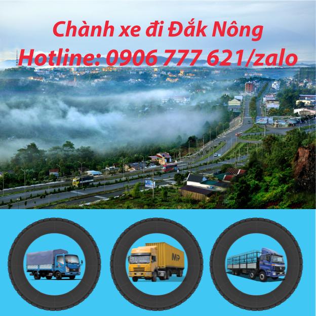 Chành xe đi Đắk Nông