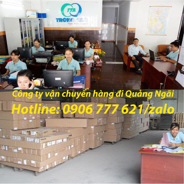 Công ty vận chuyển hàng đi Quảng Ngãi
