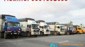 Nhà xe vận tải hàng hóa từ Hà Tĩnh