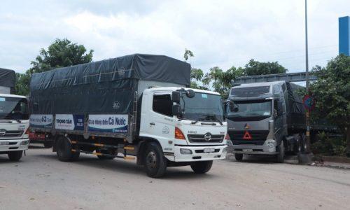Xe tải mui bạt