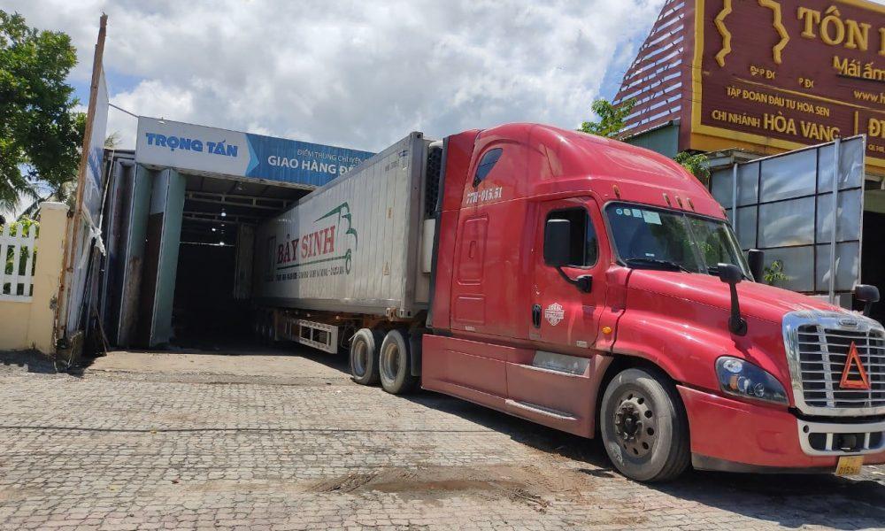 xe tải vận chuyển hàng Sài Gòn đi Hà Nội