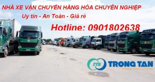 Nhà xe vận tải hàng hóa từ Bình Định