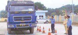 Chưa xử phạt xe vi phạm quy định về tải trọng trục