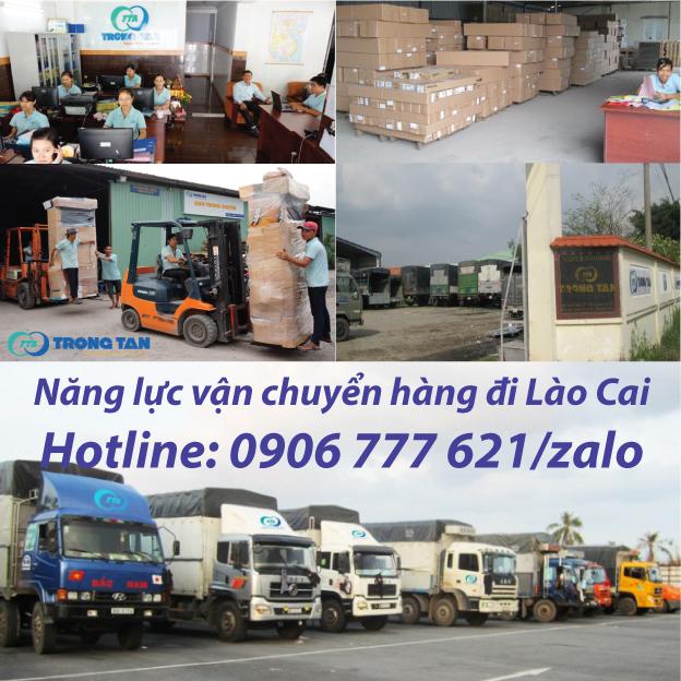 Năng Lực vận chuyển hàng đi Lào Cai