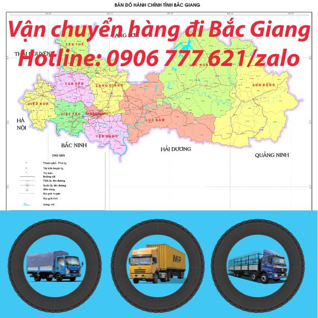 Vận chuyển hàng đi Bắc Giang
