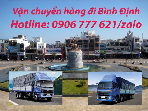 Vận chuyển hàng đi Bình Định