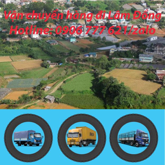 Vận chuyển hàng đi Lâm Đồng