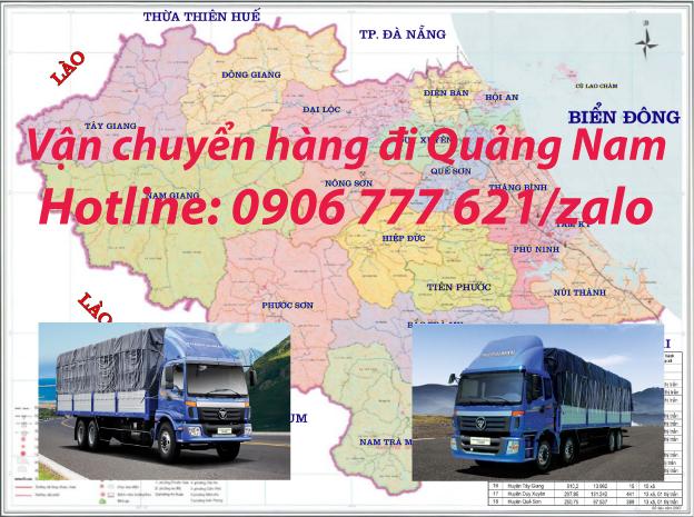 Vận chuyển hàng đi Quảng Nam
