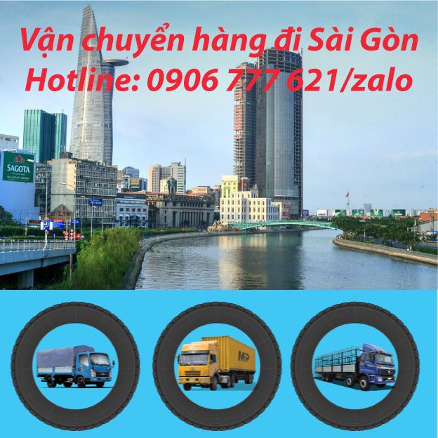 Vận chuyển hàng đi Sài Gòn