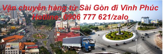 Vận chuyển hàng từ Sài Gòn đi Vĩnh Phúc