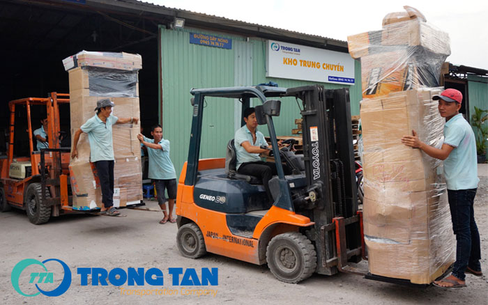 Đội ngũ bốc xếp Vận chuyển hàng gia dụng từ TP. HCM đi các tỉnh